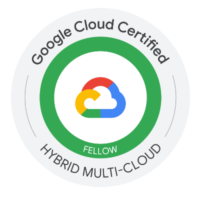 Google Cloud Anthos Fellow Certification