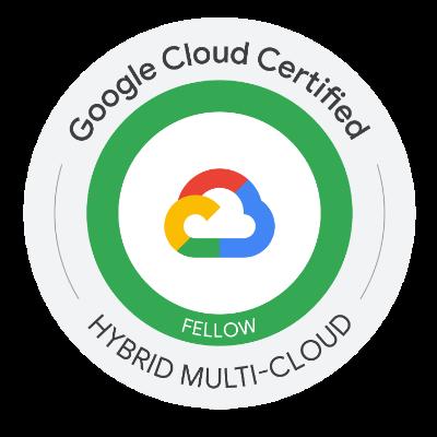 Google Cloud Anthos Fellow Certification